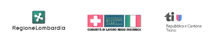 logo regione lombardia, canton ticino, insubria