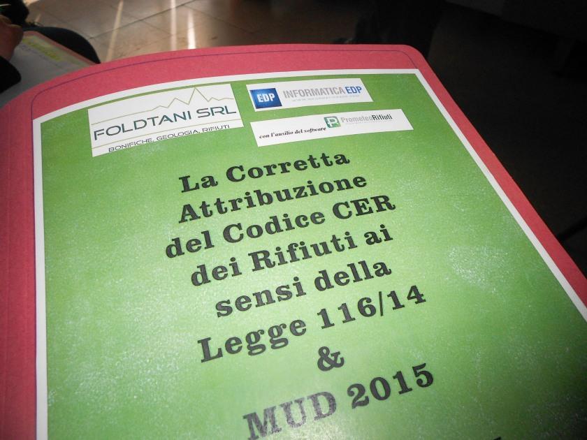 corso codice CER e MUD-2