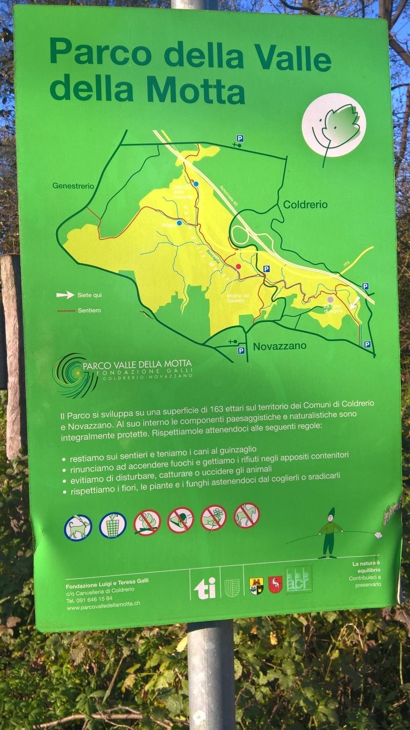 sentiero, parco della Valle della Motta